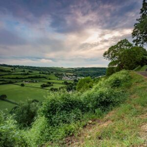 A view of the Torridge valley
