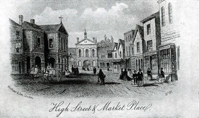 A Picture of the Square in times gone by